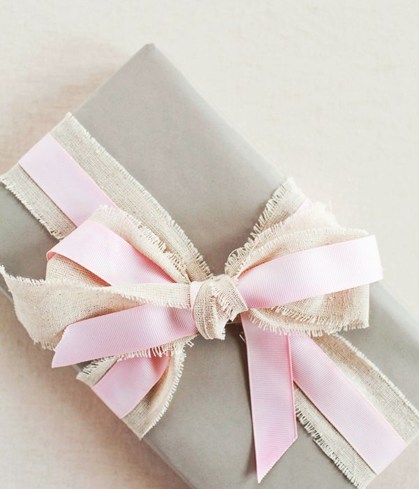 Printed Paper Gift Present Bag SUMMER ROMANCE Elegant Pink Brown Dots Large D