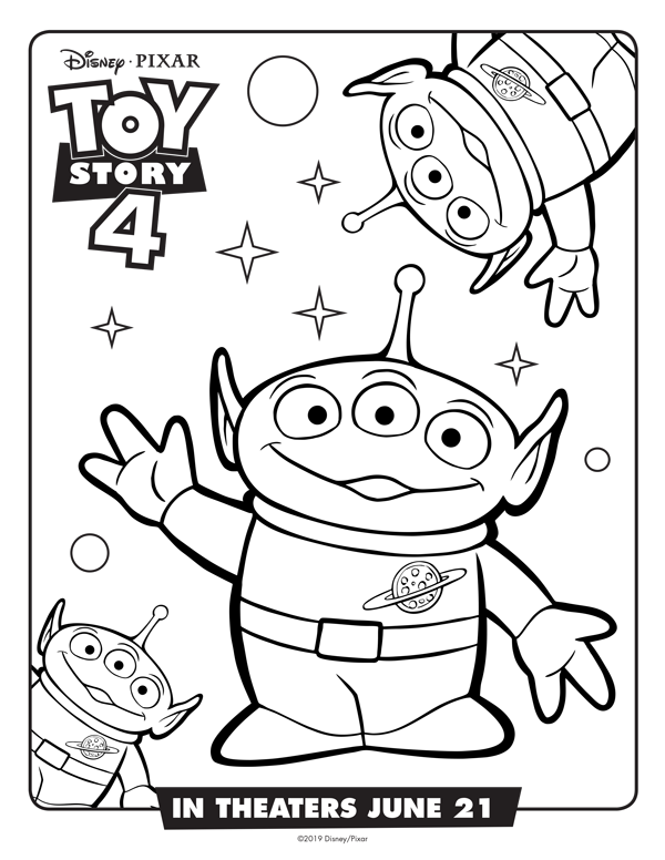 Did You Love Toy Story 4 As Much As We Did Get These Free Printables To Extend The Fun Toy Story Coloring Pages Disney Coloring Pages Disney Coloring Sheets