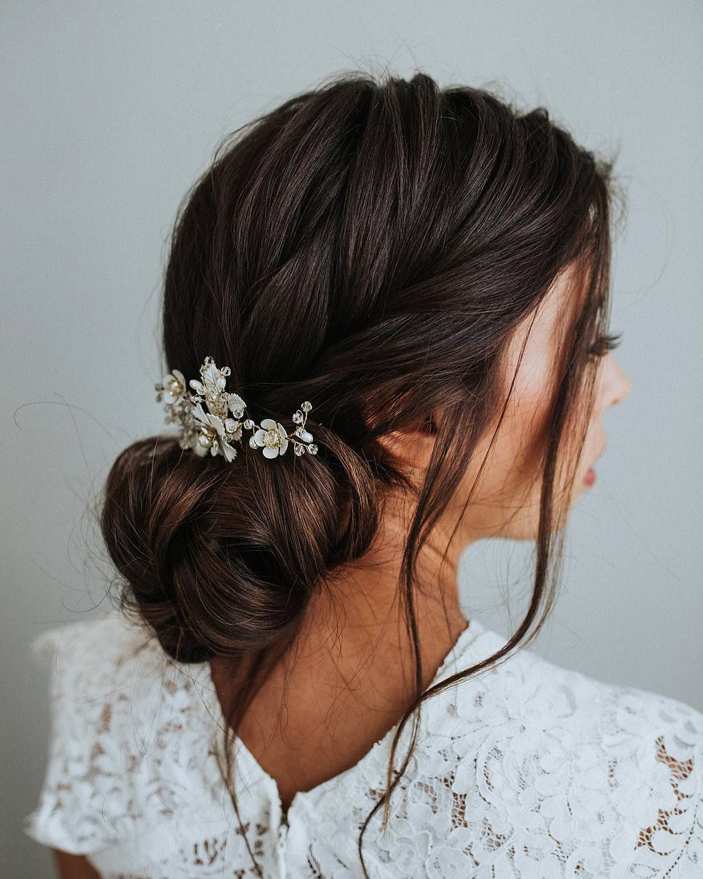 28 Half Up Half Down Wedding Hairstyles We Love: 100 Gorgeous Wedding Hair From Ceremony To Reception
