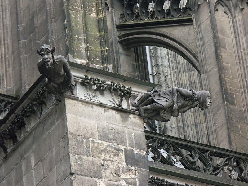 German Gothic Church Gargoyles