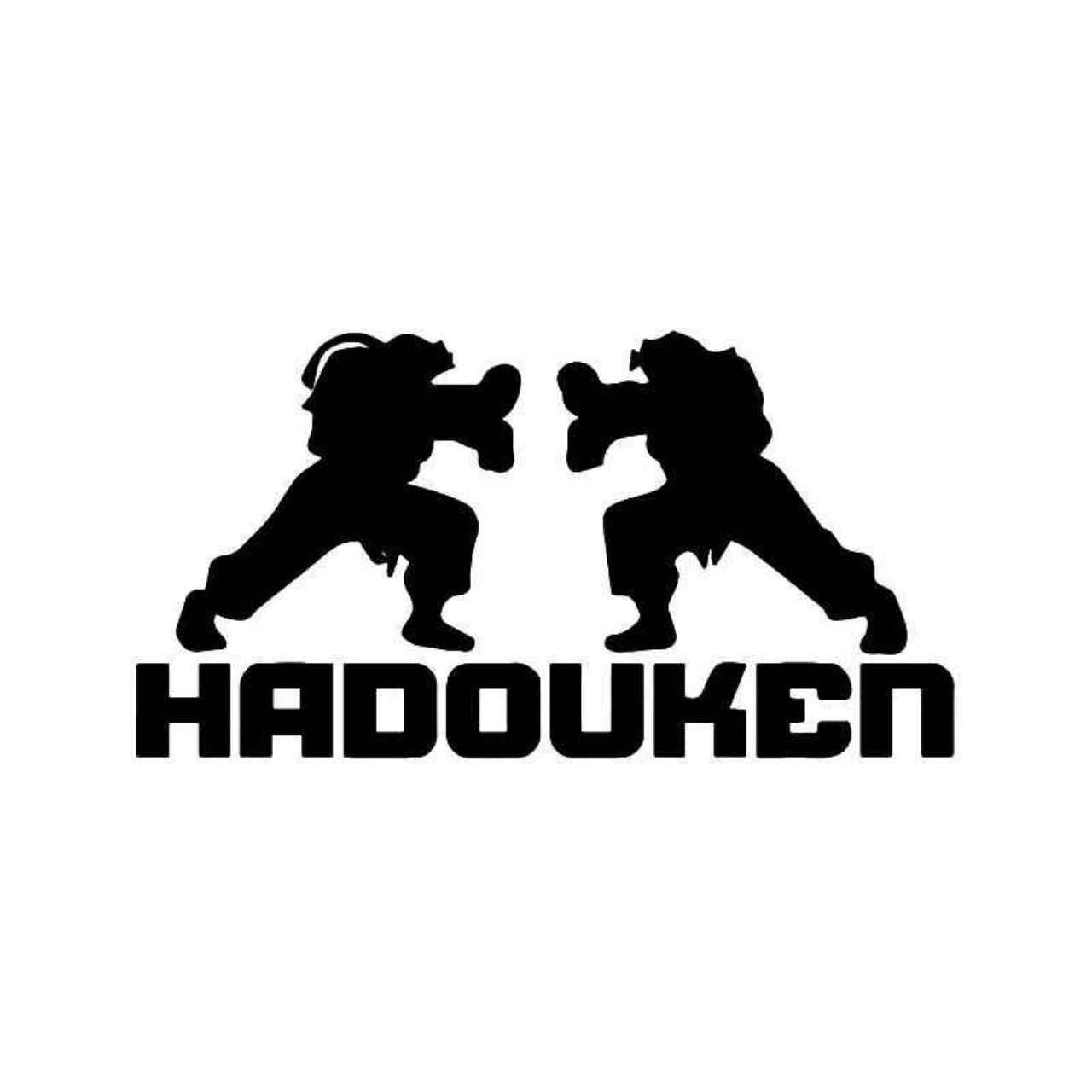 Street fighter hadouken gaming vinyl decal sticker ballzbeatz com