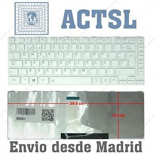 keyboard spanish for toshiba satellite l800 l805 l830 l835 l840 white - Categoria: Avisos Clasificados Gratis  Estado del Producto: Nuevo Keyboard Spanish for TOSHIBA SATELLITE L800 L805 L830 L835 L840 WhiteValor: 29,99 EURVer Producto