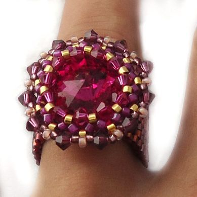 Pink Bling Ring | JewelryLessons.com