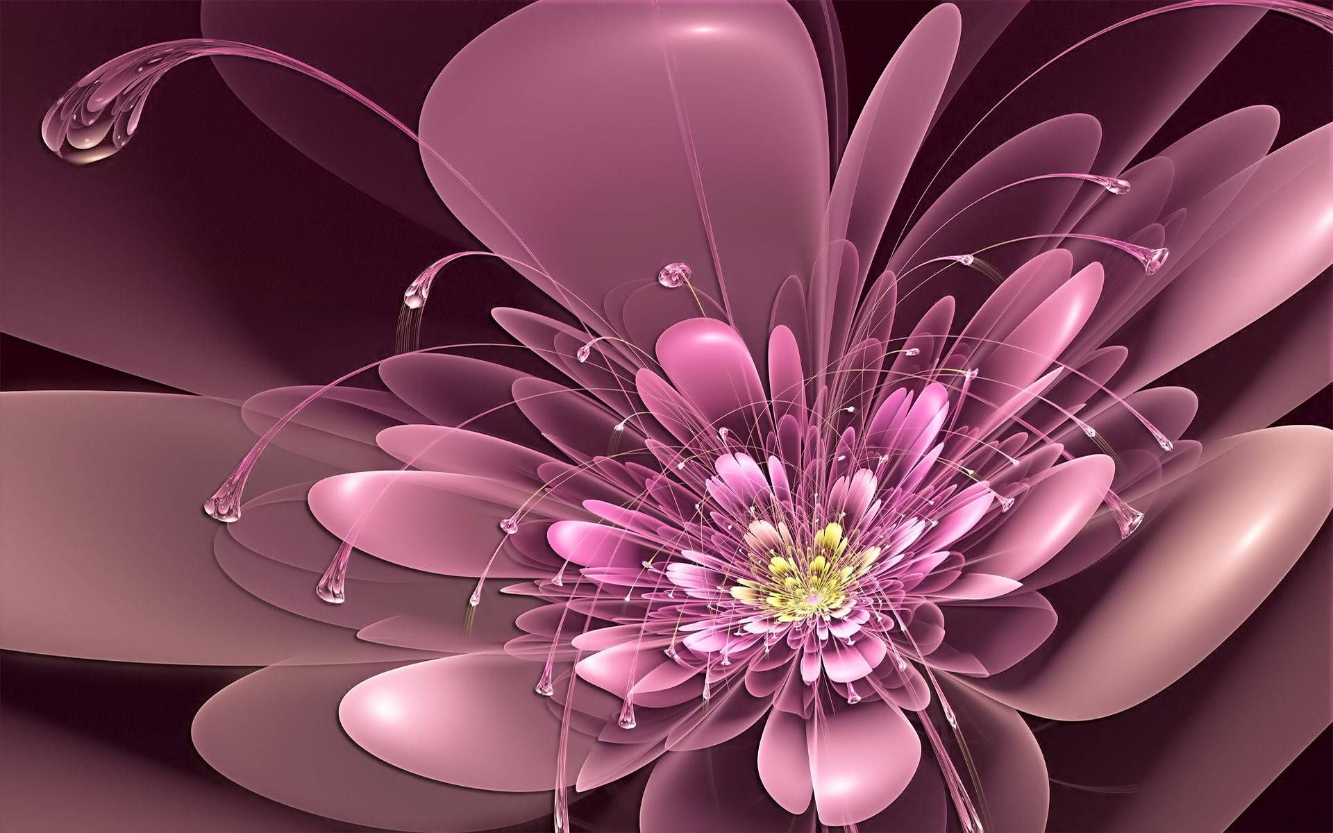 Nice beautiful sparkling fractal flower amazingpict nice beautiful sparkling fractal flower izmirmasajfo