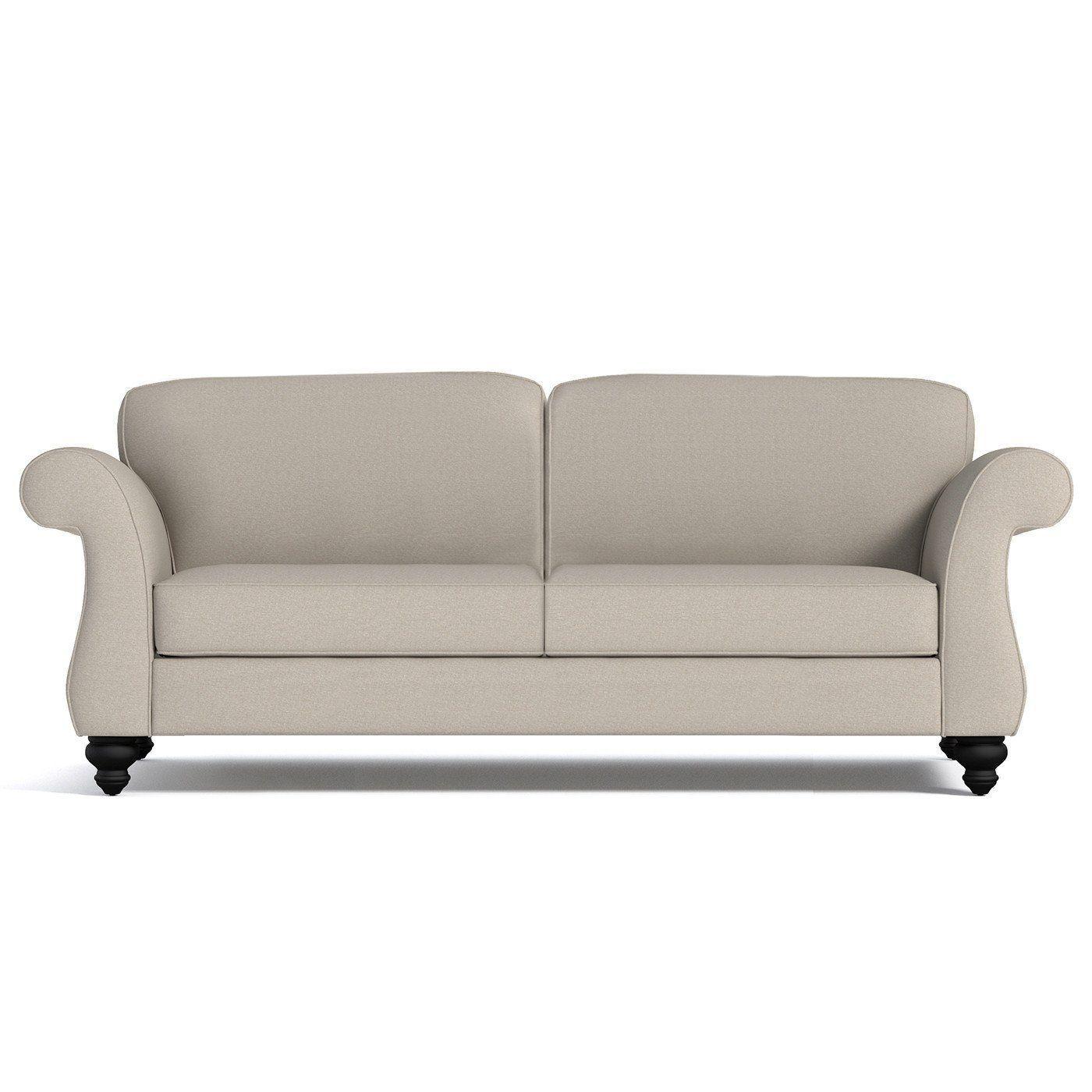 Best Ryandale Sofa Leg Finish Pecan Apartment Size Sofa 400 x 300
