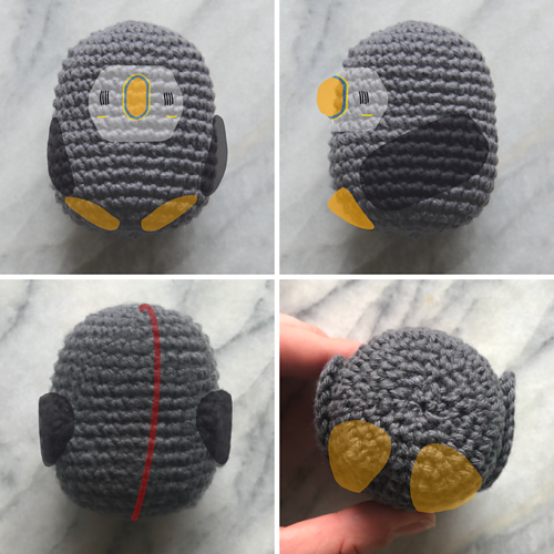 Ravelry: Pocket Sized Puffin pattern by Picot Pals ...