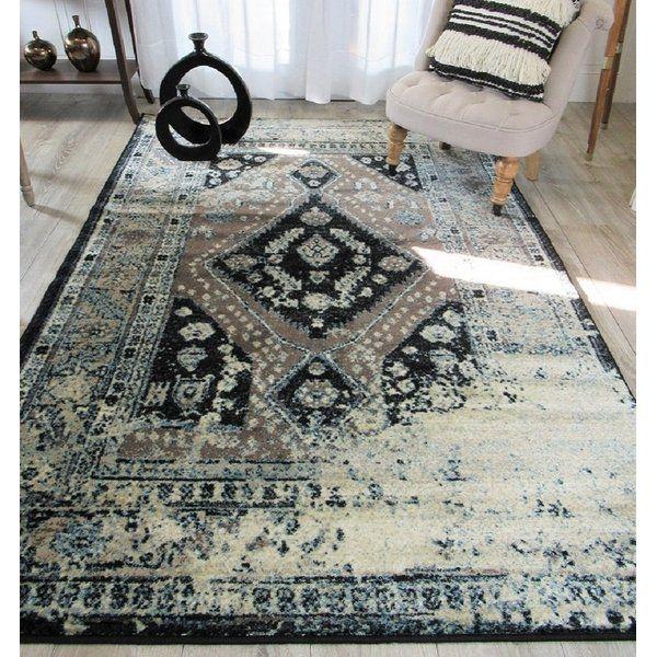 Westling Moroccan Black Gray Area Rug Area Rugs Traditional