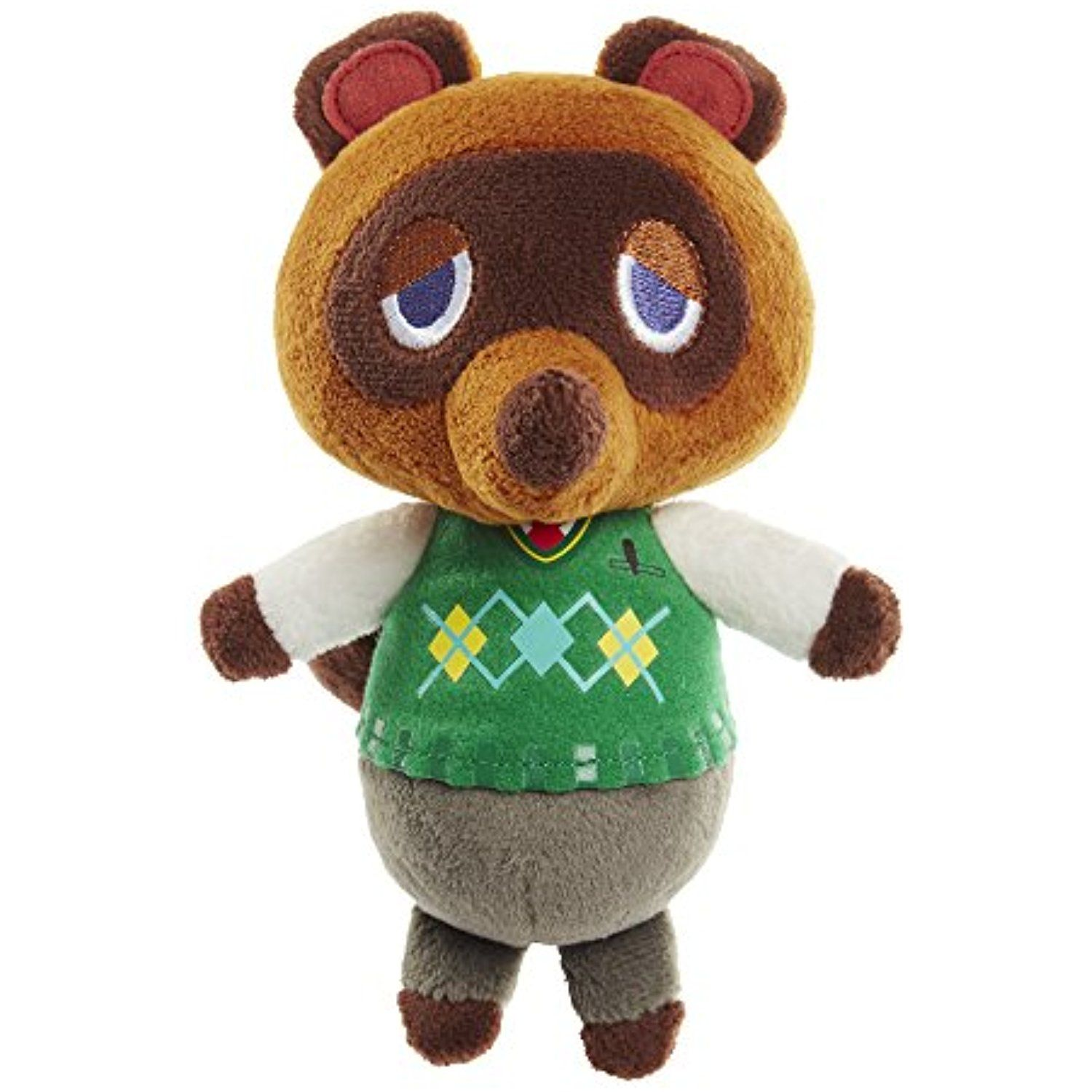 NINTENDO World of Nintendo Tom Nook Plush -- Click image for more details. (This is an affiliate link) #StuffedAnimalsPlushToys