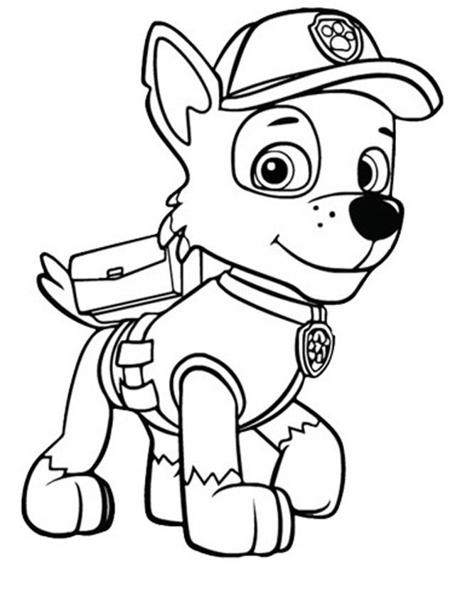 Paw Patrol Coloring Pages Paw Patrol Coloring Pages Paw Patrol Coloring Cartoon Coloring Pages