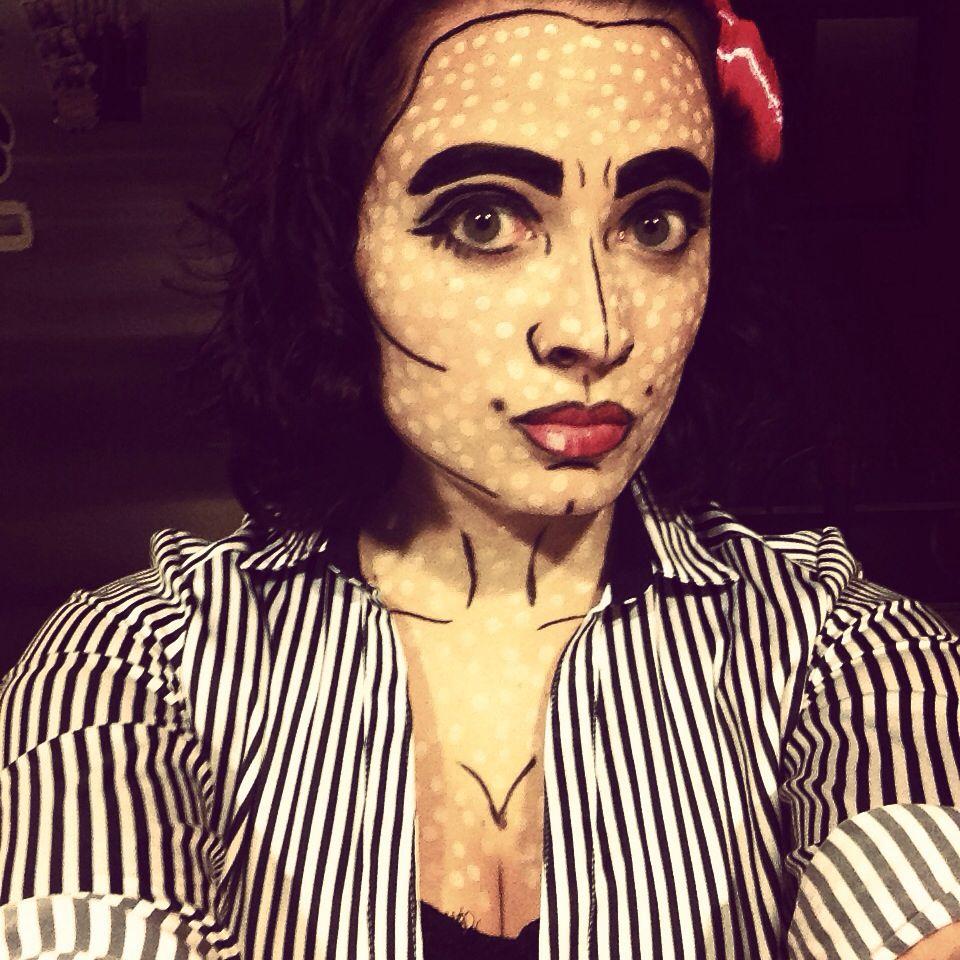 My halloween makeup:)
