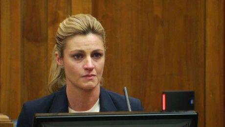Hear Andrews tearful testimony