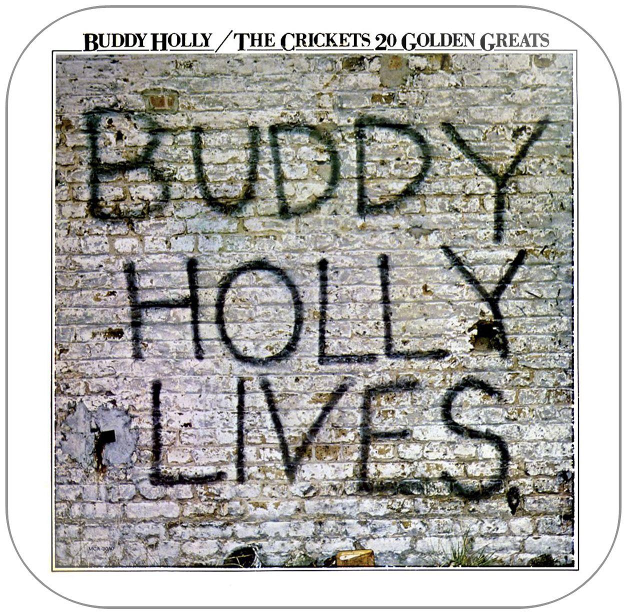 Buddy Holly And The Crickets 20 Golden Greats Album Cover Sticker Vinile Citazioni