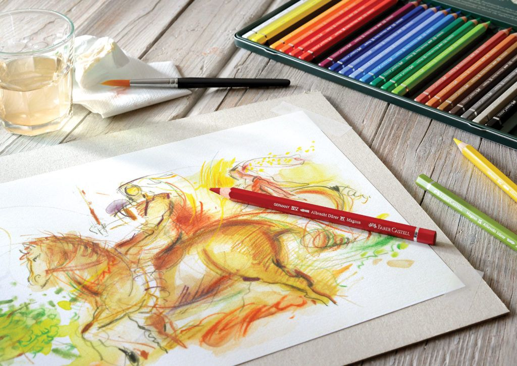 Watermedia World The Joy Of Painting Watercolor Pencils