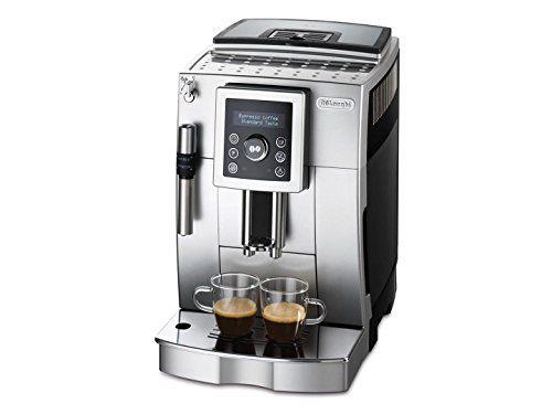 Delonghi Bean To Cup Automatic Italian Espresso Machine With New Cappuccino System Silver Black Ecam23420 Want Add Coffee Automatic Coffee Machine Espresso