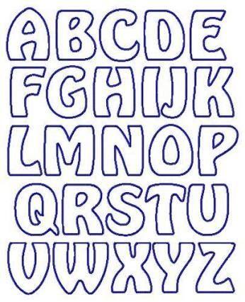Resultado de imagen para diseño de letras para carteles   cumple ...