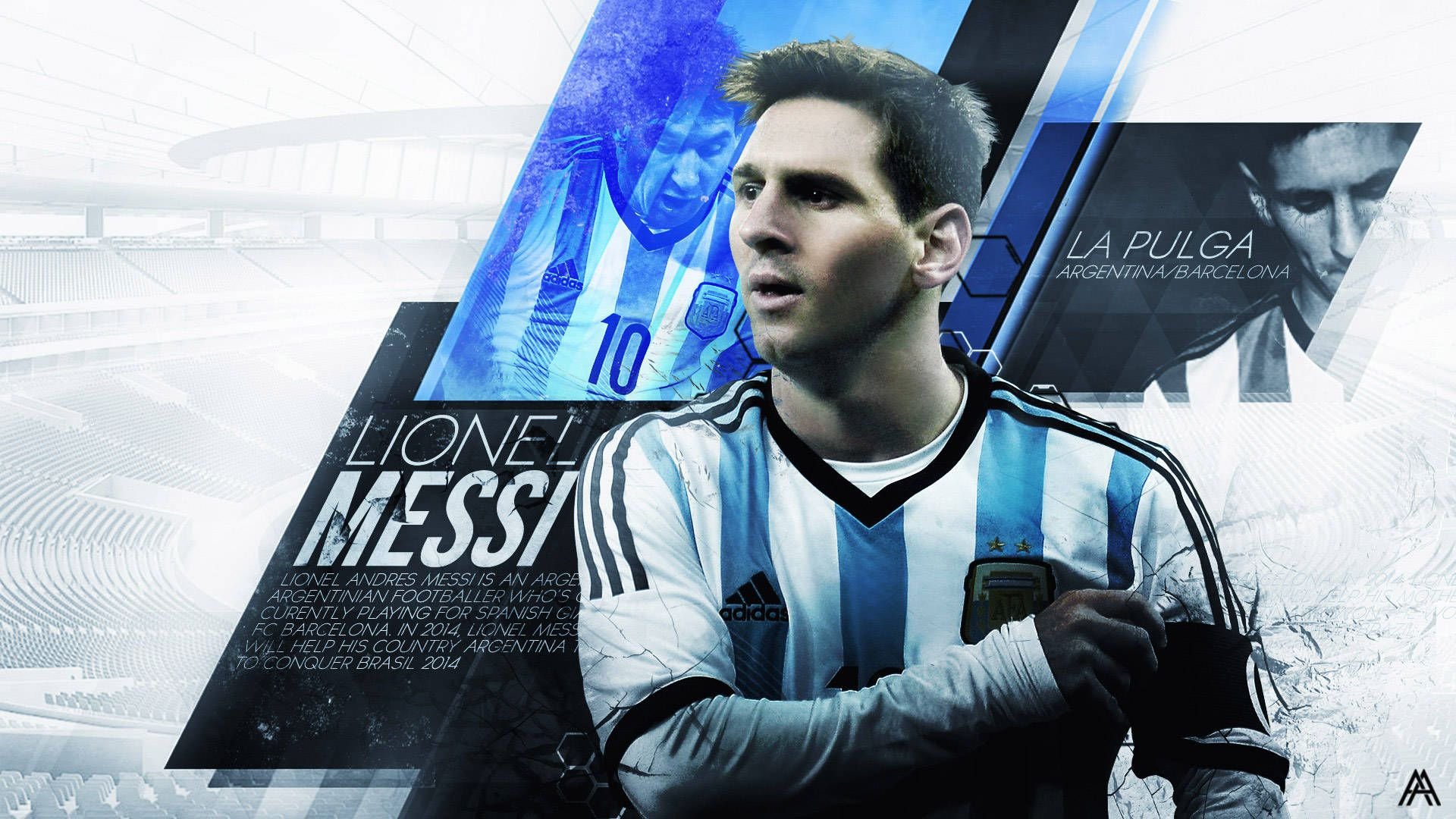 Messi Argentina Wallpaper Lionel Messi Wallpapers Lionel Messi