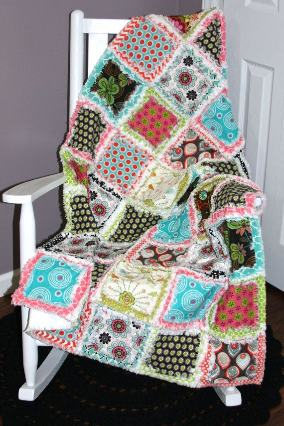 Check out this item in my Etsy shop https://www.etsy.com/listing/208419072/soo-scattered-double-layer-rag-quilt