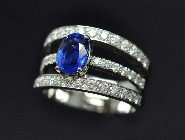 bague diamant 3 anneaux