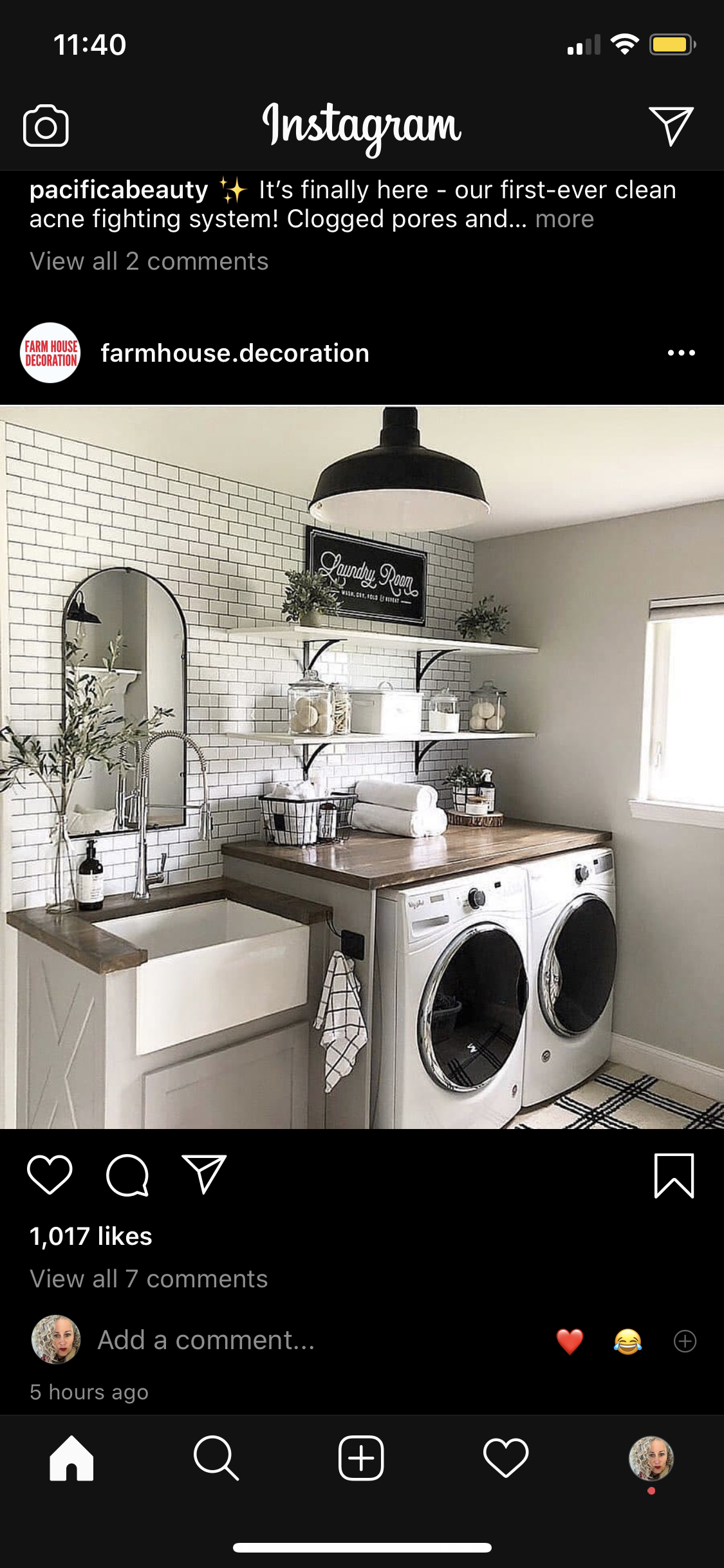 Pin By Marlo On Style Home Laundry Mudroom In 2020 Home Appliances Washer And Dryer Stacked Washer Dryer