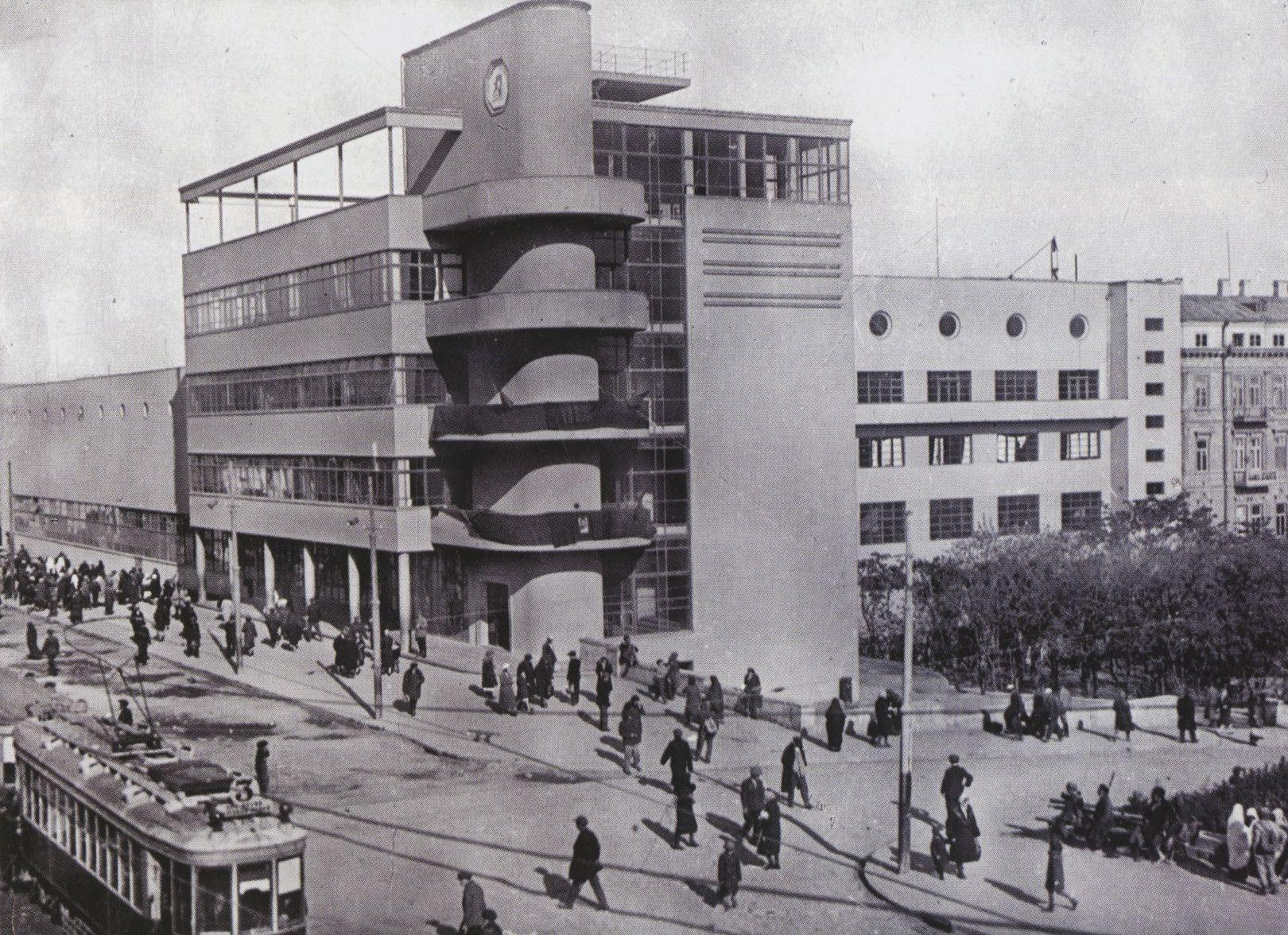 Palace of the Press in Baku, Azerbaijan (1932)