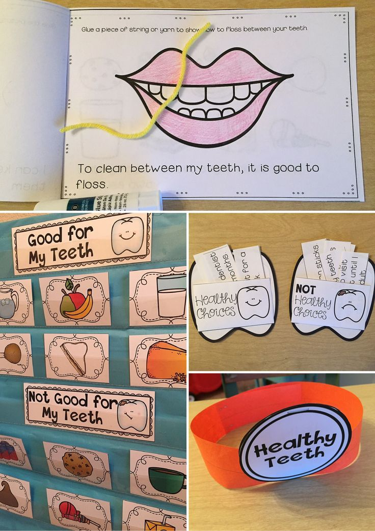 Dental Health Unit Activities to Teach about Teeth and