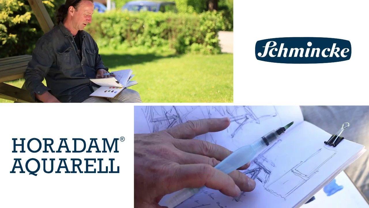 Schmincke Aquarell Tutorial Mit Jens Hubner Sketch Einer