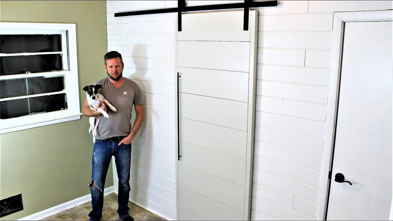 The 40 Modern Barn Door Easy Diy Project Modern Barn Door