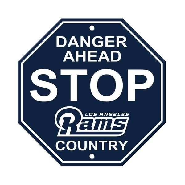 cheaper c7177 bbf7d Los Angeles Rams Stop Sign | Best NFL Accessories, NFL Gifts ...