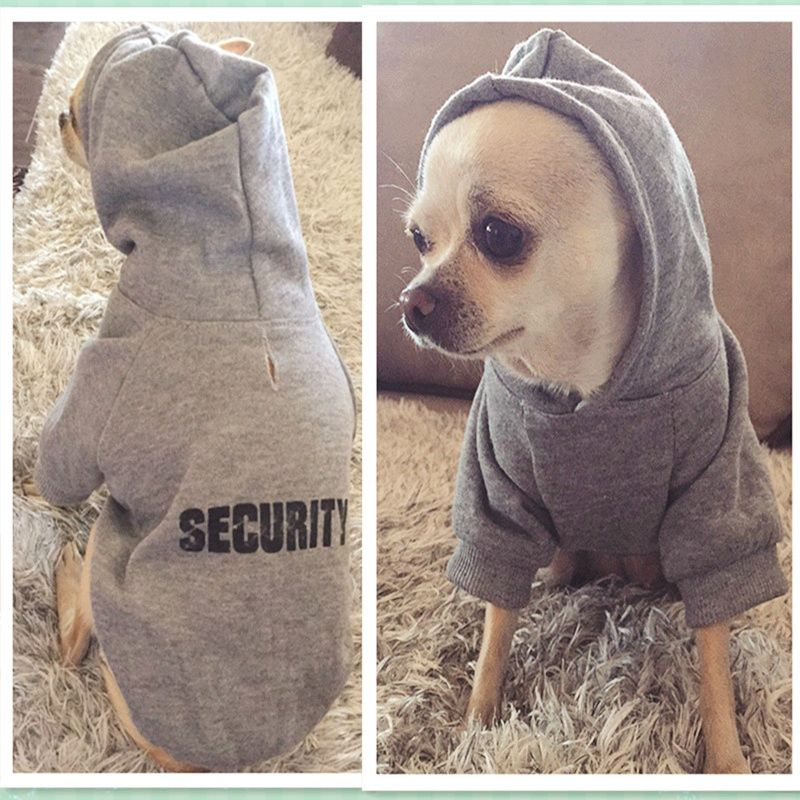 164567fe9fbb Small Dog's Hoodies | Dress & Beds | Puppy clothes, Small dog coats ...