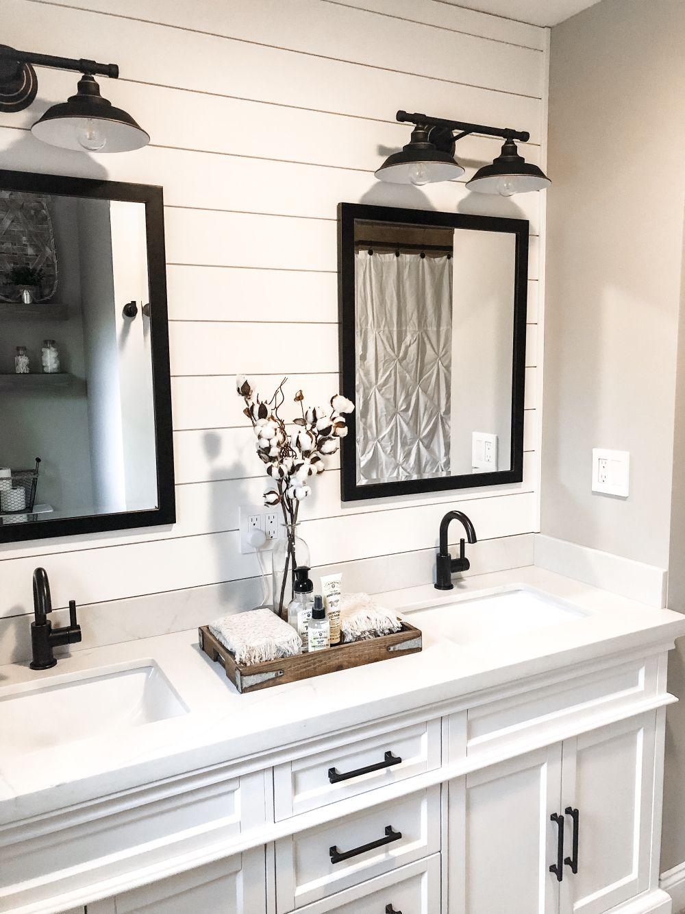 Modern Farmhouse Bathroom Remodel, Modern Farmhouse Bathroom Remodel Ideas
