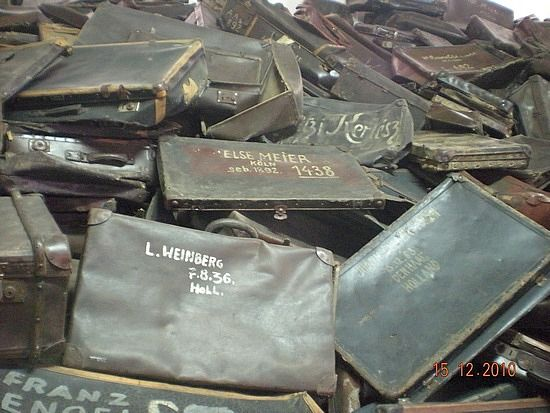 Holocaust. Belongings of the victims