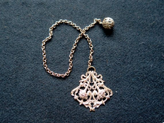 Beautiful Antique French Chain for Pocket by UnPetitChateau