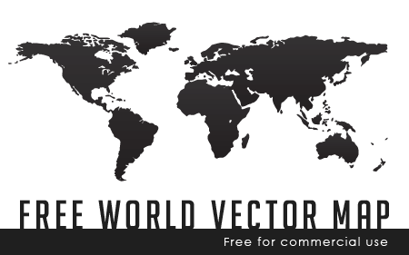 Free world continents vector map design pinterest free world continents vector map gumiabroncs