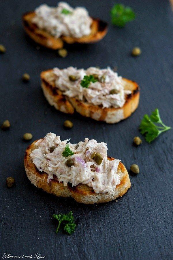 Thunfisch-Crostini #brochetteapero