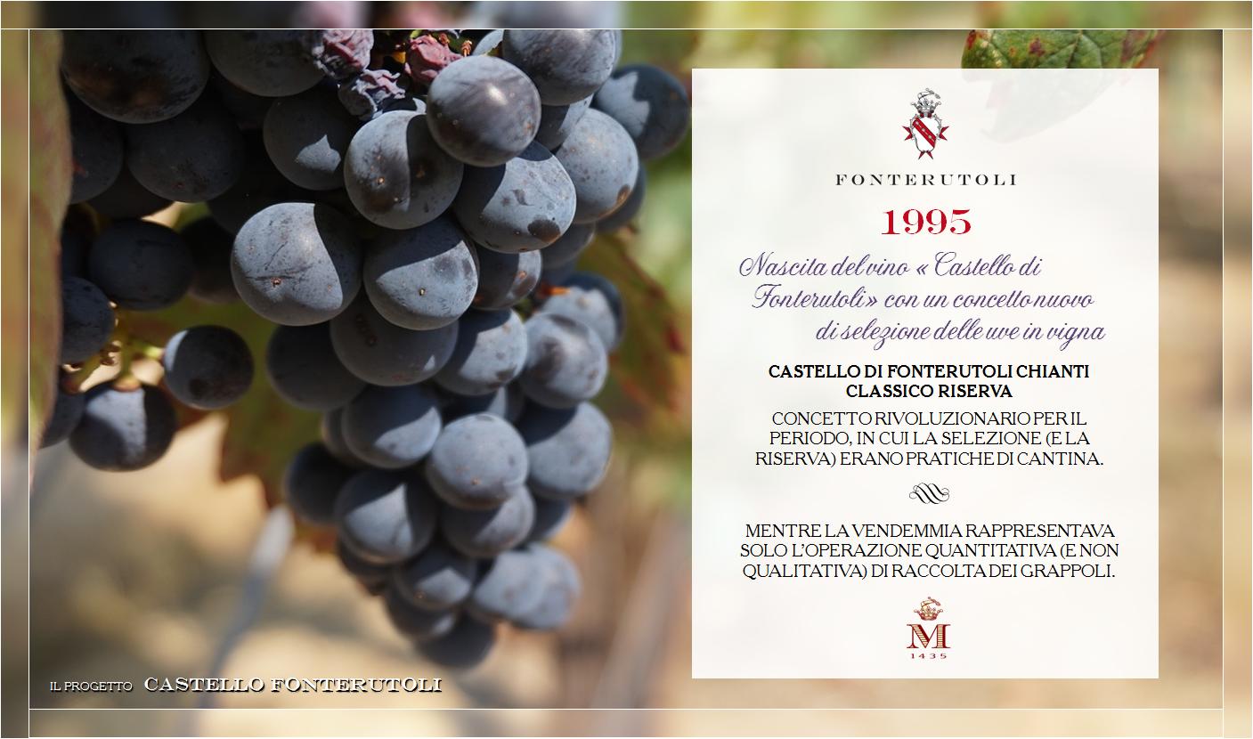 La selezione di uve in vigna è il concetto rivoluzionario che accompagna la nascita del Castello di Fonterutoli @marchesimazzei #fonterutoli #marchesimazzei #wine #tuscany