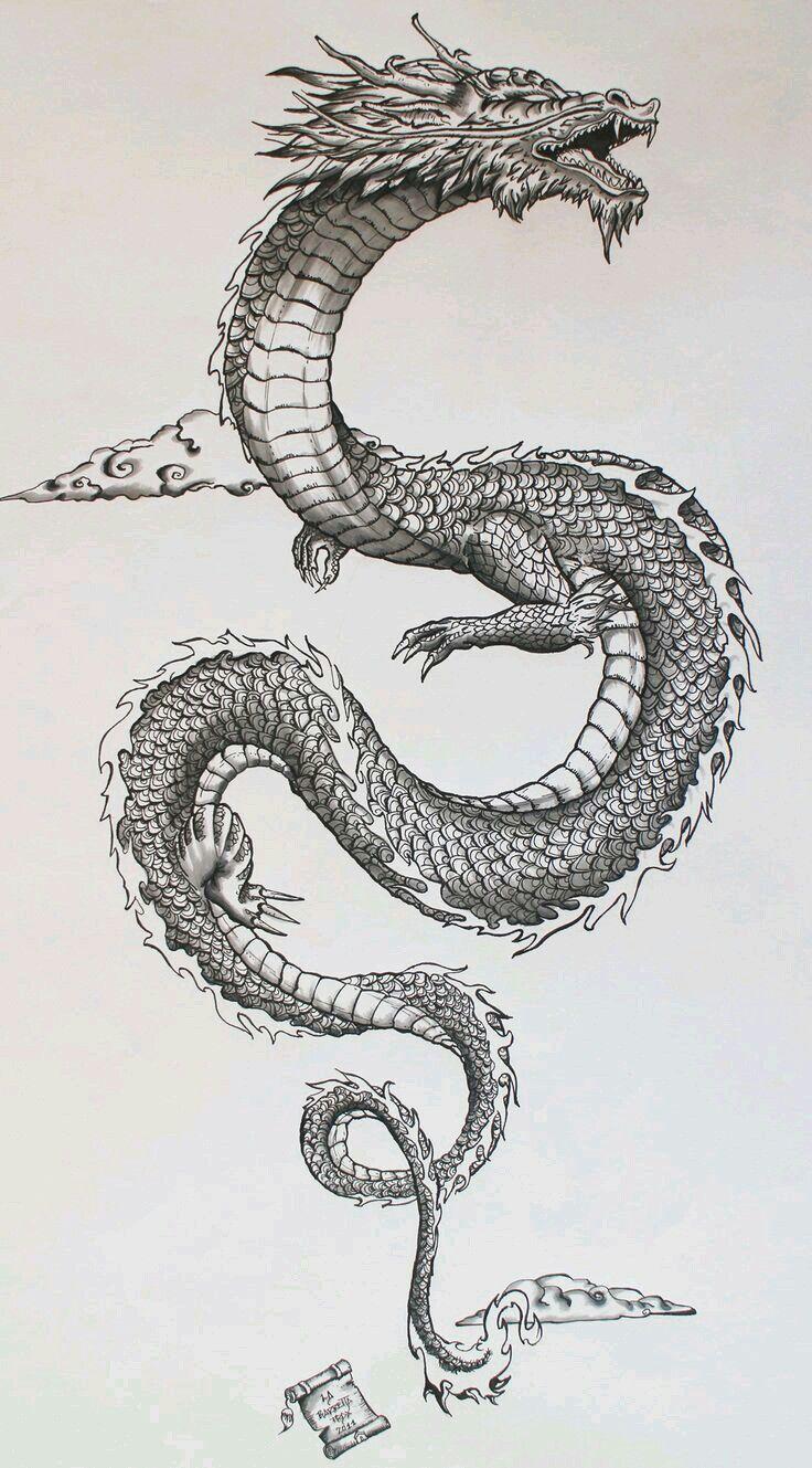 Pin By Al Burg On Al In 2018 Pinterest Tatouage Dragon Japonais