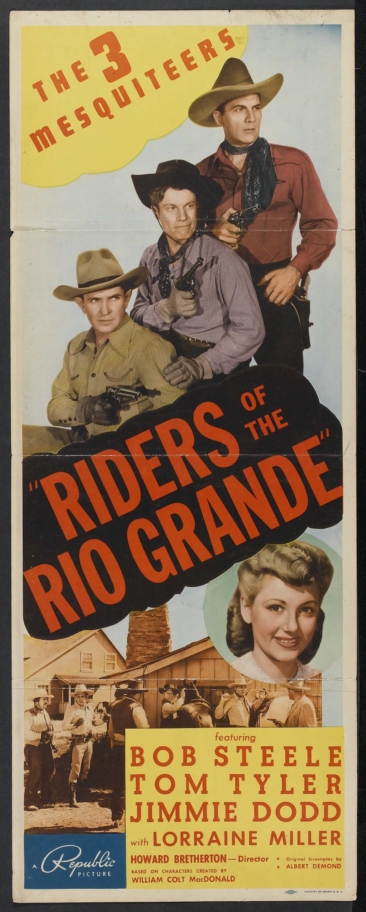 Download Riders of the Rio Grande Full-Movie Free