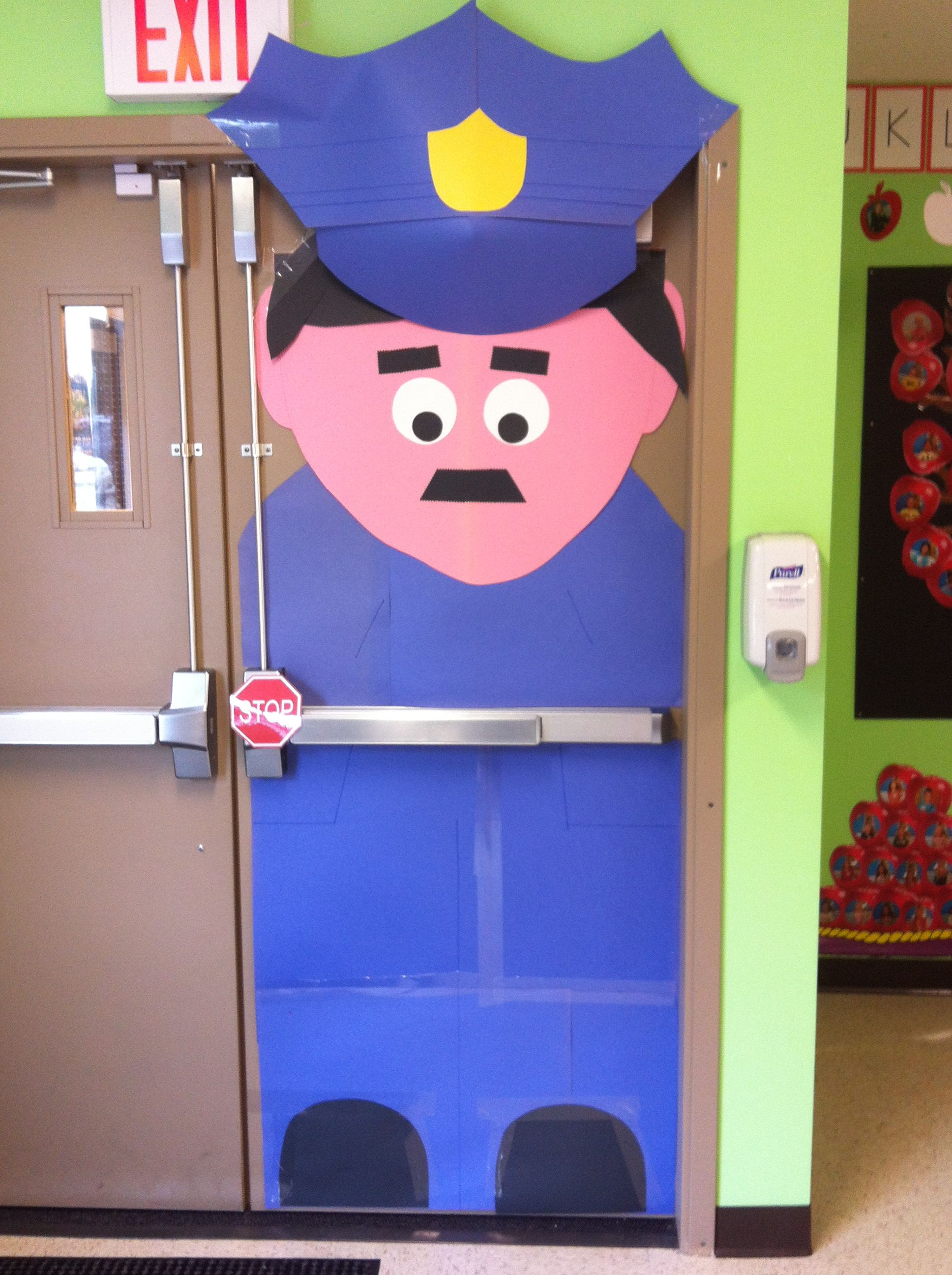 Craft Ideas For Classroom Decoration : I was looking for a door decoration comm helpers