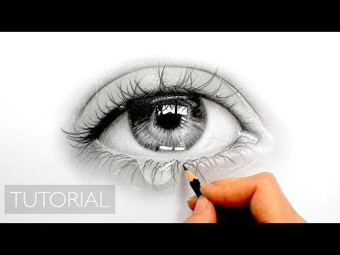 How To Draw A Realistic Eye Painting In Dry Brush Speed Drawing Malen Zeichnen Youtube Dibujos Realistas Como Dibujar Cosas Dibujos De Ojos