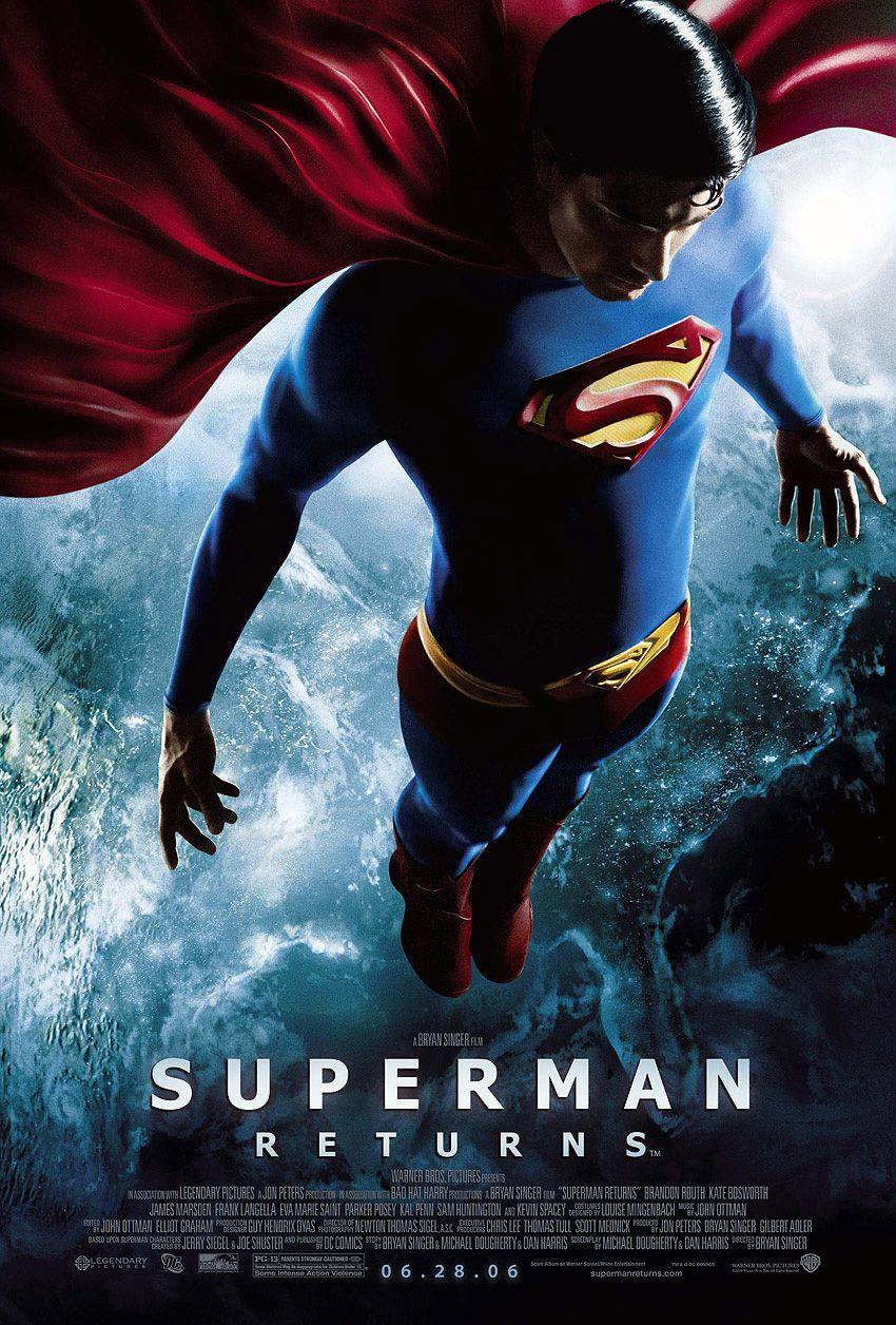 Superman Returns Filmes Super Herois Cartaz De Filme Melhores