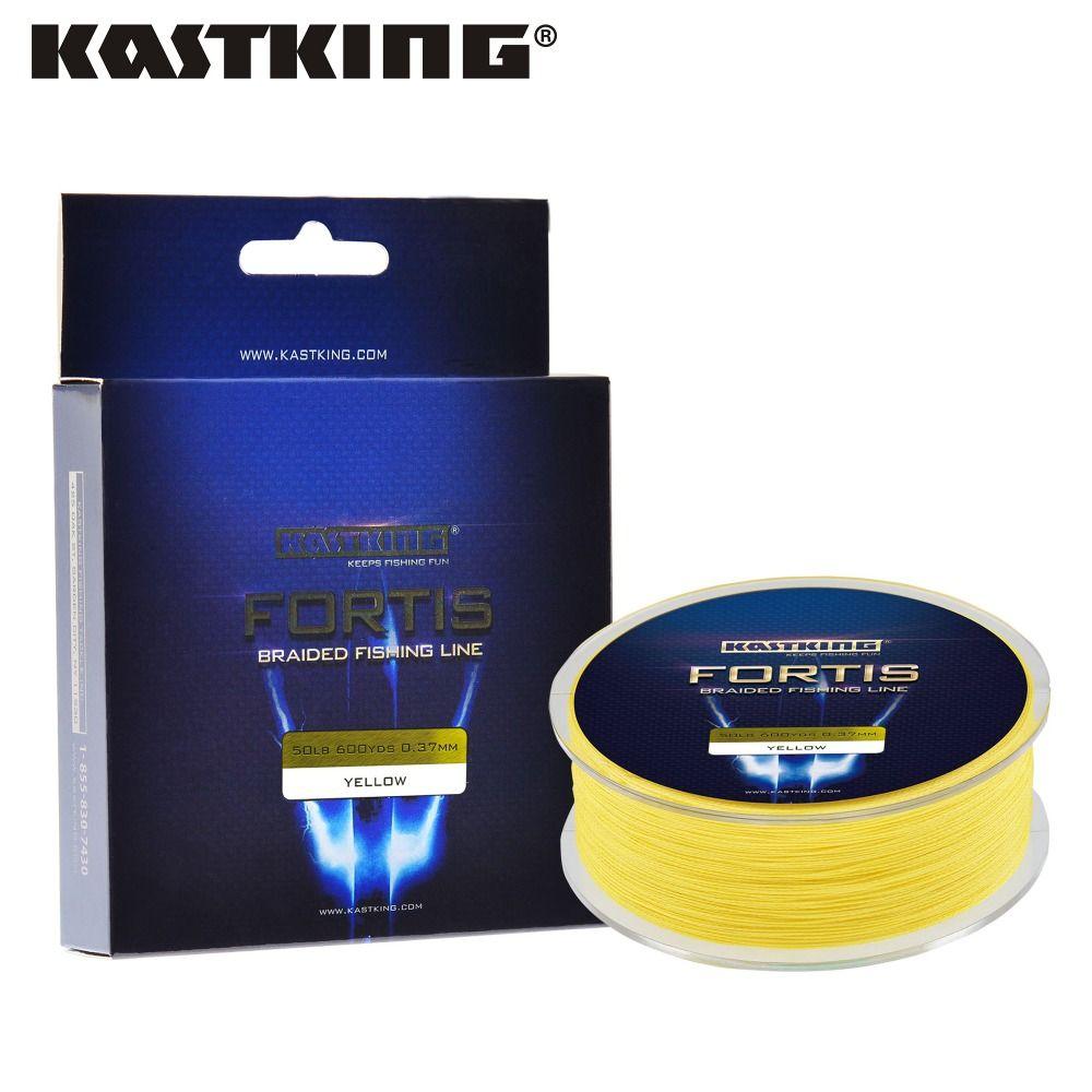 Fortis serie 320 m 4 strands multifilamento de pesca de línea kastking súper fuerte línea trenzada pe 4 colores 10-80lb