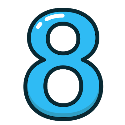 Number 8 Png High Quality Image High Quality Images Image Png