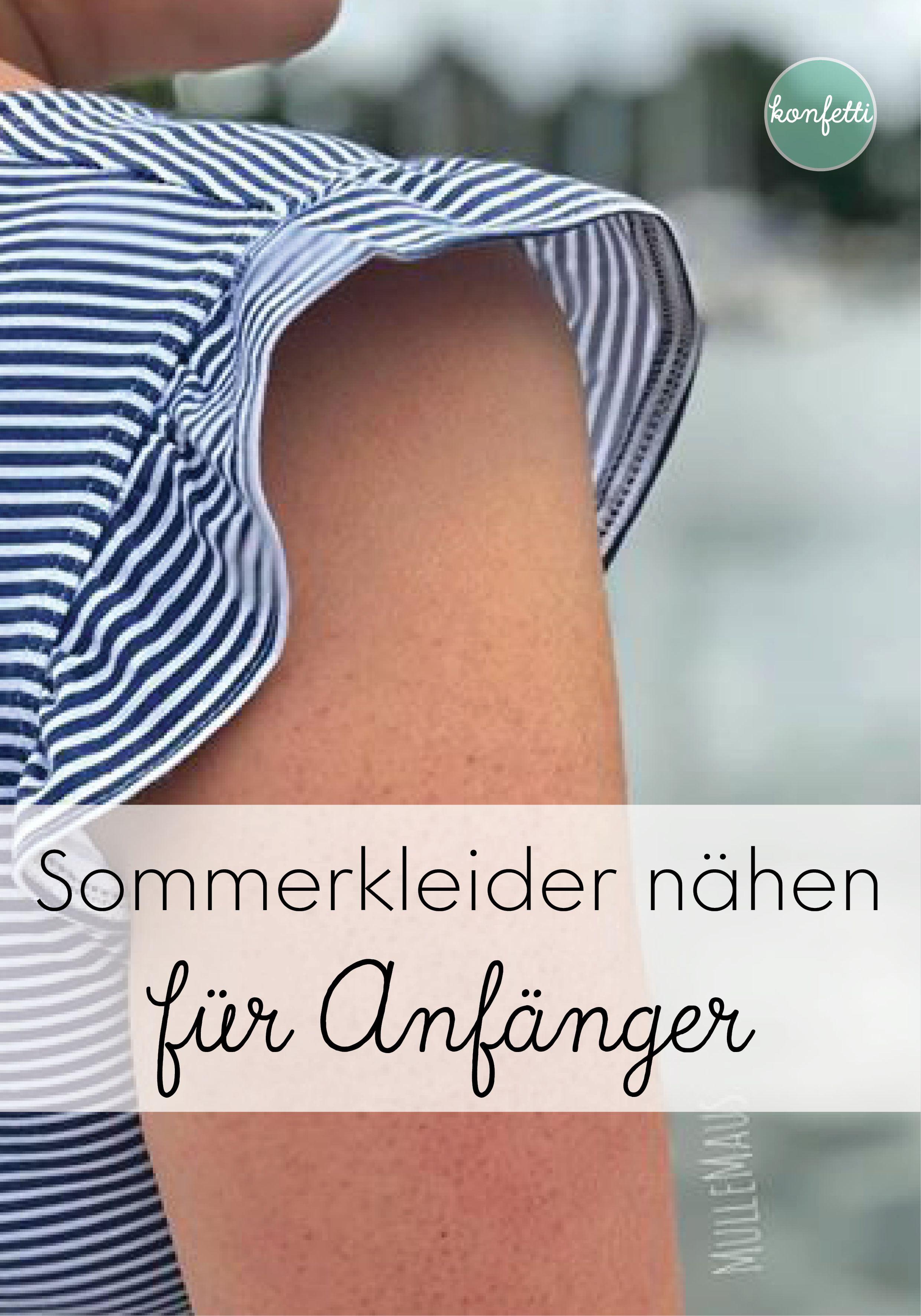 Schnittmuster fürs perfekte Sommerkleid #schnittmusterzumkleidernähen