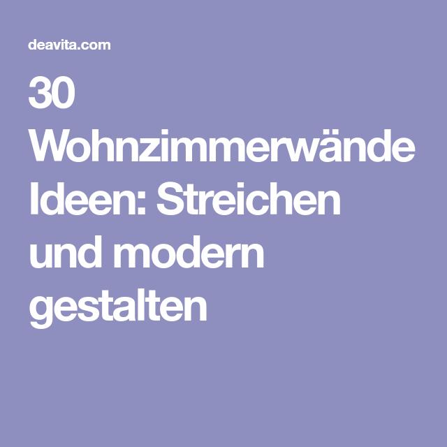 Wandgestaltung Treppenaufgang Gestalten: 30 Wohnzimmerwände Ideen: Streichen Und Modern Gestalten
