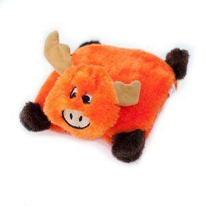 Plush Square Pad Moose Dog Toy Dog Toys Pet Paws Plush Animals