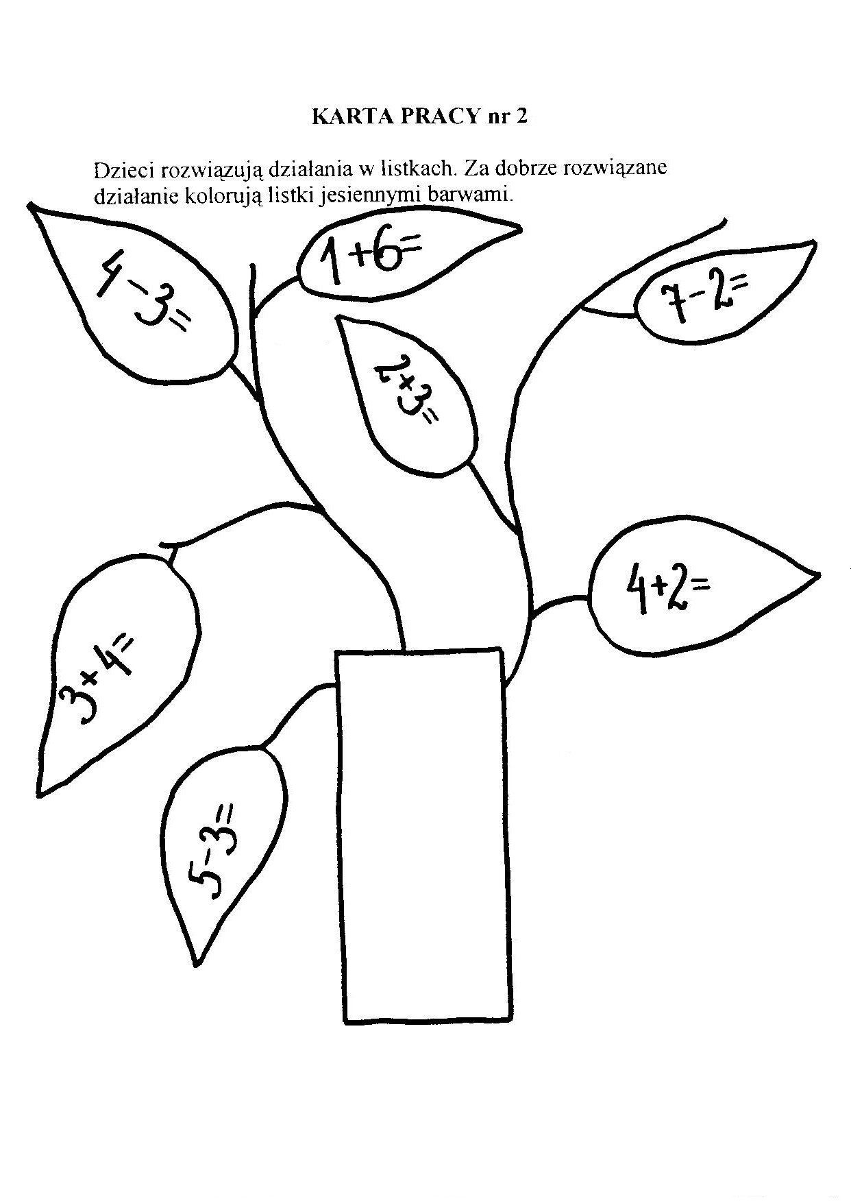 Znalezione Obrazy Dla Zapytania Karta Pracy Matematyka Klasa 4