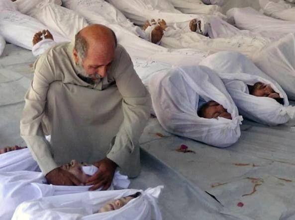Siria, nuovo attacco chimico contro un villaggio