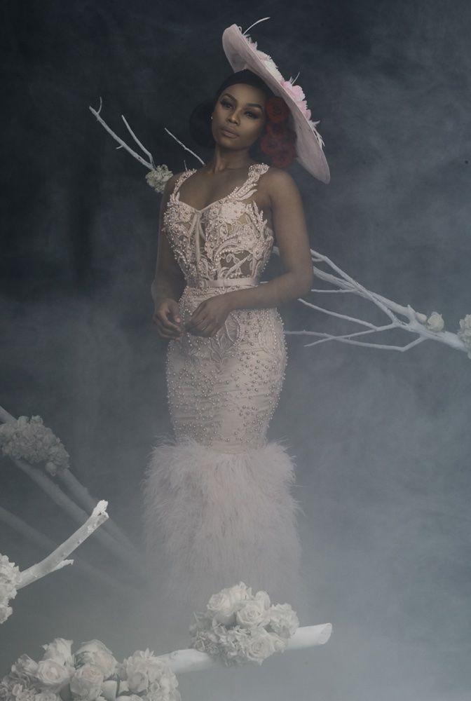 Orapeleng Module Style Avenue Brial Lookbook Featuring South Africa S Queen B Bonang Matheba Bellanai Elegant Outfit Classy Wedding Frocks Gorgeous Dresses,Macy Dresses For Weddings
