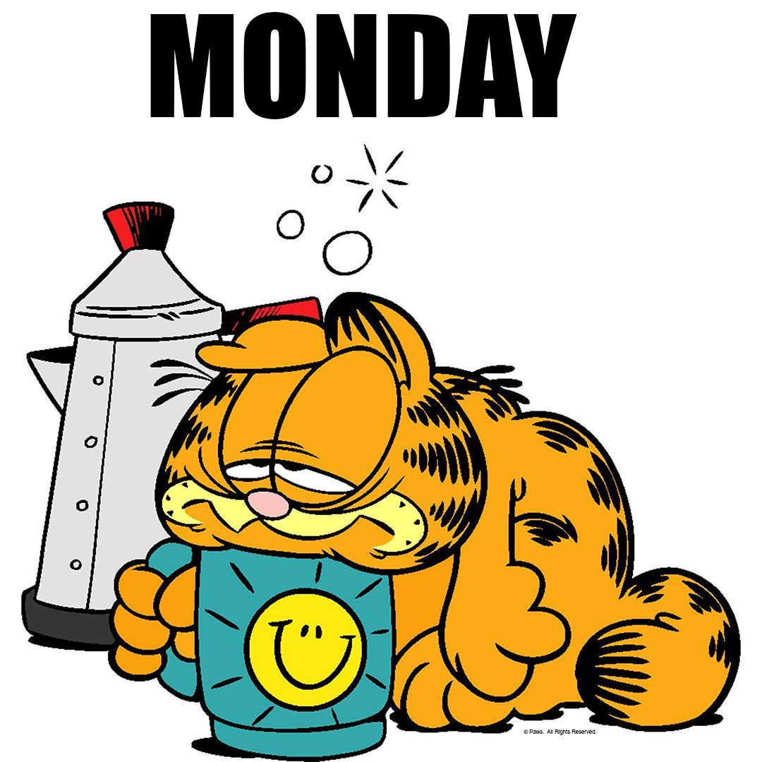Monday Garfield Quotes Good Morning Funny Monday Quotes