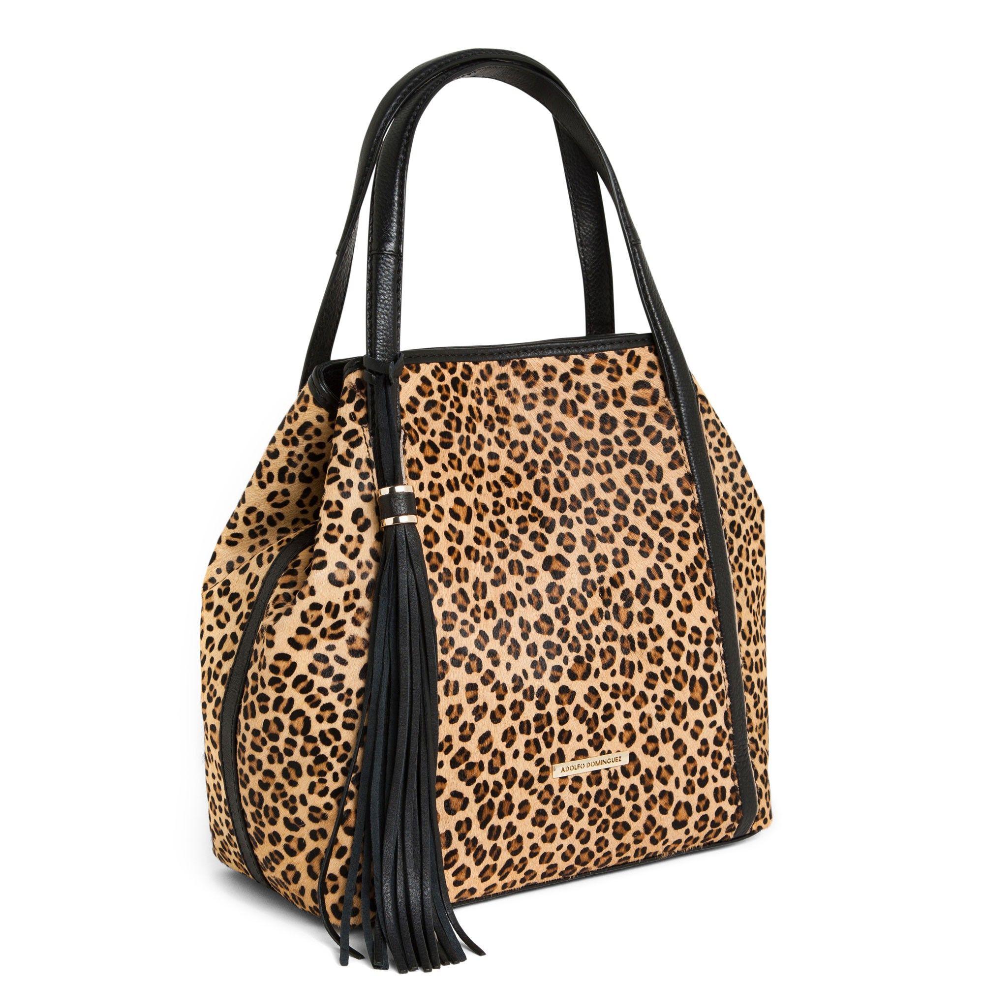 4becd3bedab Shopper animal print - bolsos de hombro